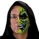 HALLOWEEN Masti Halloween Masca Fata Jumatate Mutilata