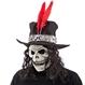 HALLOWEEN Masti Halloween Masca Black Skeleton