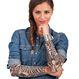 HALLOWEEN Accesorii Costume  - Accesorii Costumatii Maneci Cu Tatuaje II