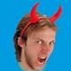 HALLOWEEN Accesorii Costume Coarne Diavol