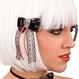 HALLOWEEN Accesorii Costume Clame de par Skull Bow