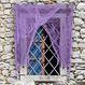 Decoratiuni si Farse Halloween Decoratiuni Halloween Perdea Zdrentuita Violet