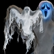 Decoratiuni si Farse Halloween Decoratiuni Halloween Fantoma decorativa Halloween cu LEDuri
