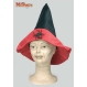 HALLOWEEN Palarii Halloween Costumatii halloween | Palarii Halloween Palarie Vrajitoare Negru- Rosu