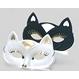 Costume Serbari Copii Masti Copii Masca Pisica neagra