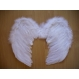 Accesorii Costume Adulti Aripi Aripi de Inger cu Pene 40 cm x 36 cm
