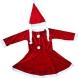 Costume Craciun - Costum Mos Craciun copii Costum Craciunita fetite 3-4 ani