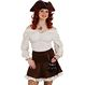 Halloween Costume Pirat Costumatii halloween - Costumatii Halloween Femei Bluza Pirati 38-40