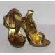 Cadouri Indragostiti - Incaltaminte Sandale Gold Chain 37 - aurii