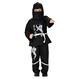 Costume Serbari Copii Costume Serbari Costum Black Ninja 4-5 ani