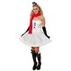 Costume Craciun Costume Craciunite Cadouri de Craciun - Costumatie Craciunite Costumatie Miss SnowMan XS