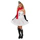 Costume Craciun Costume Craciunite Costume Craciun - Costume Craciunite Costumatie Miss SnowMan M