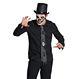 HALLOWEEN Accesorii Costume Cravata Craniu