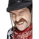 Costume Serbari Copii Accesorii Costumatii Costume Serbari Copii - Accesorii Costumatii Mustata Cowboy maro