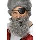 Halloween Costume Pirat Barba Pirat gri