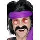 Carnaval / Petreceri Barbi si Mustati Costume Adulti Carnaval | Mustati, Barbi Carnaval Mustata anilor '70- Negru