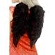 HALLOWEEN Accesorii Costume Accesorii Costume Adulti | Aripi Aripi Inger - pene negre 30x40