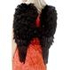 HALLOWEEN Accesorii Costume Aripi Inger - pene negre 50x60