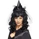 HALLOWEEN Palarii Halloween Mini palarie Vrajitoare neagra