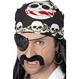 HALLOWEEN Accesorii Costume Bandana Pirat