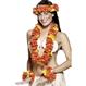 Carnaval / Petreceri Accesorii Costumatii Set accesorii Hawaii rosu