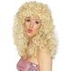 Carnaval / Petreceri Peruci  Peruci | Lungi cu bucle  -  femei Peruca Boogie - Blonda