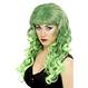 HALLOWEEN Peruci Halloween Peruca Siren - verde