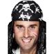 HALLOWEEN Accesorii Costume Costume si Masti Halloween | Costumatii Pirat Bandana Pirat Alb-Negru