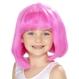 Costume Serbari Copii Peruci Copii Pentru Copii   Peruci Copii Peruca copii roz Stephanie
