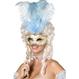 Carnaval / Petreceri Masti Carnaval Masca Baroque- Bijou Boutique Cu Maner