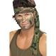 Carnaval / Petreceri Accesorii Costumatii Halloween - Seturi Costume Bentita Camuflaj de Armata