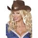 Palarie Cowboy - maro