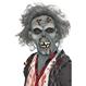 HALLOWEEN Masti Halloween Masca Zombi in Descompunere
