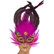 Carnaval / Petreceri Masti Carnaval Masca Feather Carnaval