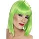 HALLOWEEN Peruci Halloween Costumatii tematice - St. Patrick's Day Peruca Glam verde neon