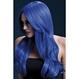 HALLOWEEN Peruci Halloween Peruca Khloe albastru neon