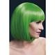 HALLOWEEN Peruci Halloween Peruci | Profesionale Peruca Elise verde neon