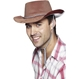 Palarie Cowboy Maro - Plastic