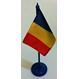 Produse Romanesti Steaguri si Fanioane Produse Romanesti | Steaguri si Fanioane Stegulet Romania 15x10cm si suport