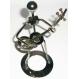 Statueta metalica - Muzician D - mic