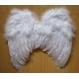Accesorii Costume Adulti Aripi Aripi de Ingeras cu Pene-albe